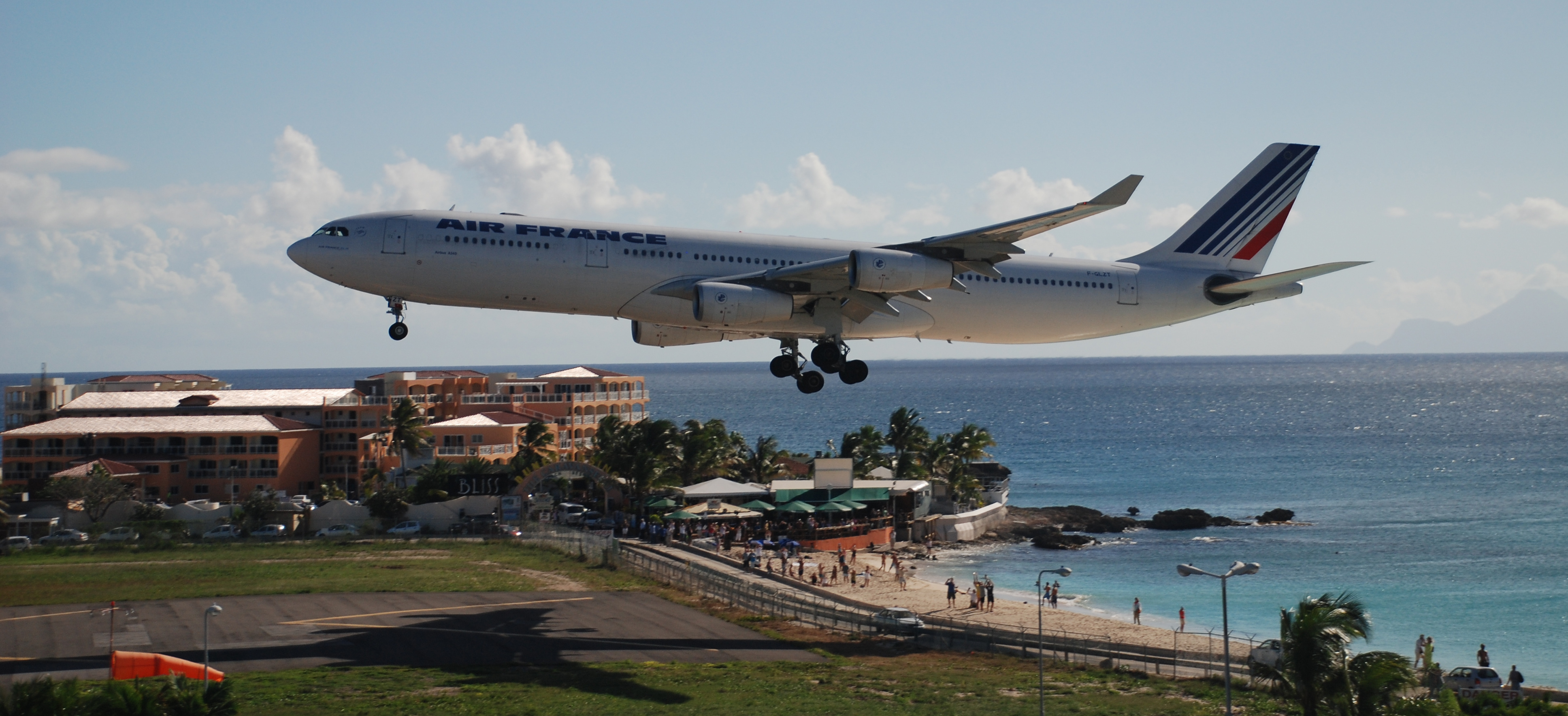 Air France annonce la réouverture du vol Paris – Saint-Martin