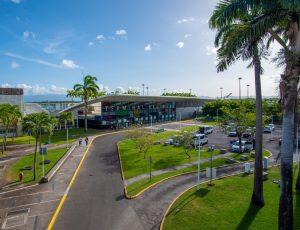 L'aéroport de Guadeloupe: Le trafic recule en mois de février
