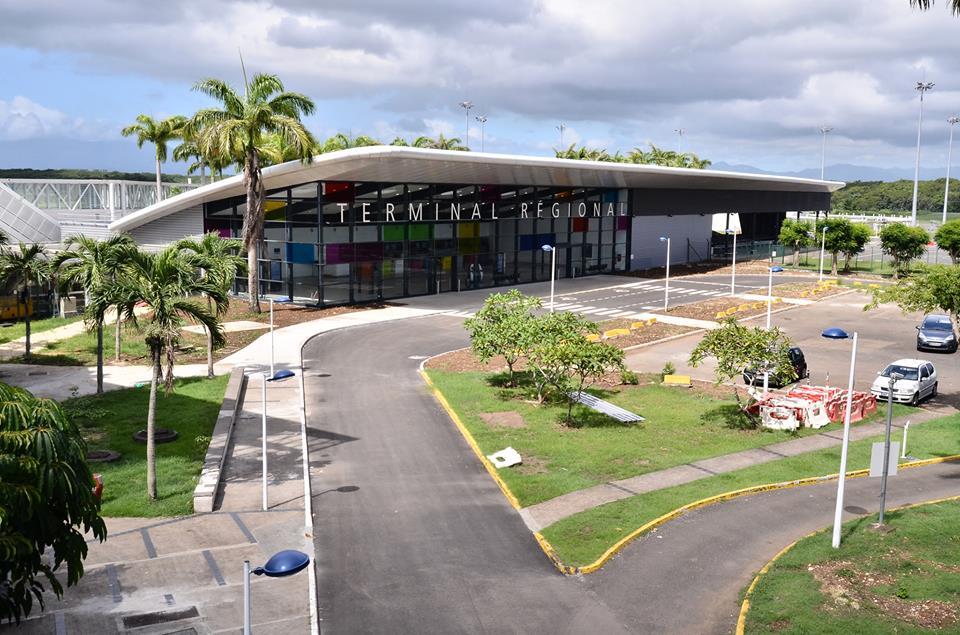 Aéroport de Guadeloupe: Trafic en hausse de 9.9% en 2018
