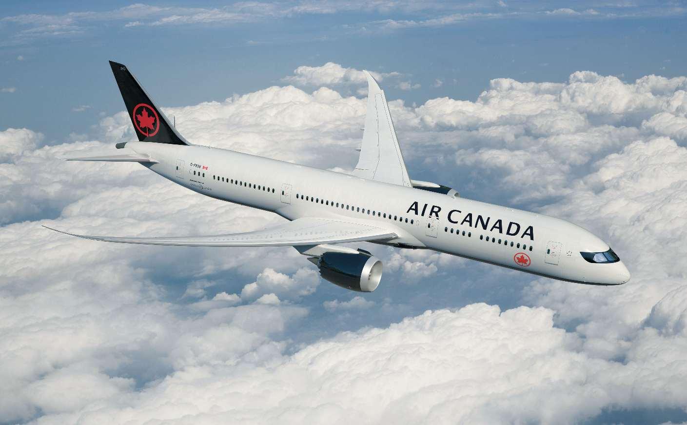 Air Canada exploite son Boeing 737 Max 8 sur Montréal-Pointe à Pitre