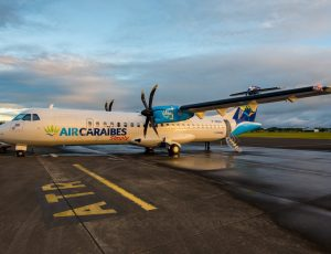 Air Caraïbes prend possession de son 3éme ATR 72-600