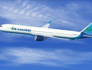 Air Caraïbes reçoit son premier A350-1000