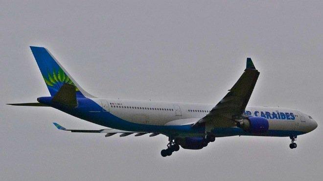 Air Caraïbes: À cause d'une panne moteur, son avion fait demi tour