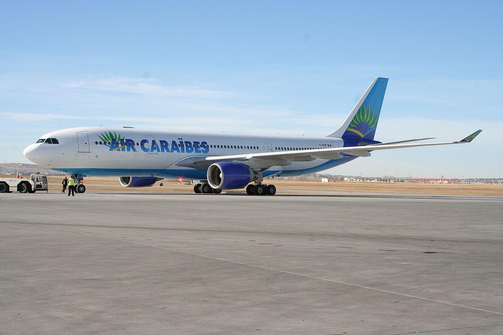 Air Caraïbes: Le taux de remplissage du vol Paris-Saint Martin a atteint les 80%